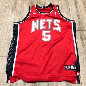 ADIDAS JASON KIDD NEW JERSEY NETS jersey